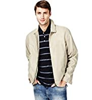 Big & Tall Classic Collar Harrington Jacket with Stormwear™