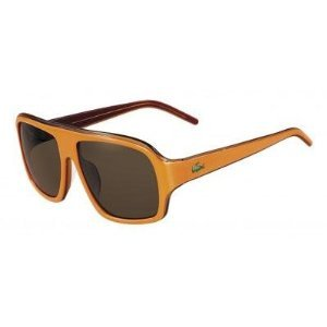 Lacoste Men's Landon Sunglasses – L643S (Orange/Light Orange)
