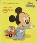 What Does Baby Mickey Find?