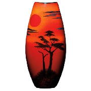 Poole Pottery African Sky 26cm Manhattan Vase