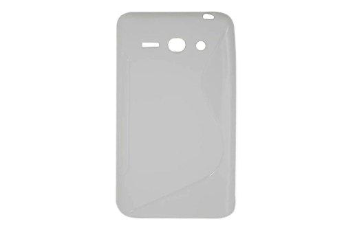 S-Linie TPU Schutz Flexible Tasche Schale für Huawei Ascend Y530 C8813 Weiß