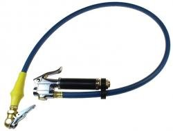 10-120 Psi Inflatr Gauge W/Clip On Ball