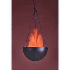 Mini hanging fire bowl toys games for Hanging fire bowl