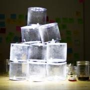 折りたたみ式防水LEDソーラーランタンLuciルーシー