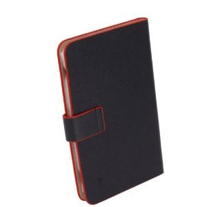 NEW 7-inch RED Trim Leather Case_Android Tablet PC_MID/NOVO7/ePad/Superpad
