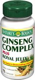 Nature's Bounty Ginseng Complex and Royal Jelly,