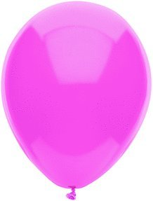 100 Latex Balloons - 11 Inch - Passion Pink - 1