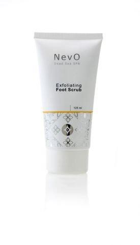 NevO Dead Sea Spa Exfoliating Foot Scrub