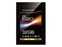 【Amazonの商品情報へ】シリコンパワー 2.5インチSolid State Disk 高速転送 SATA(SATAI/II)準拠 32GB MLCチップ採用 SP032GBSSDE20S25