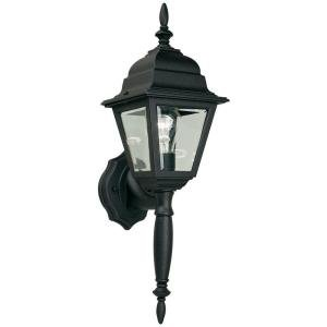 Hampton Bay 1 Light Black Square Lantern HB7023P-05 (Hampton Bay Lighting Outdoor compare prices)