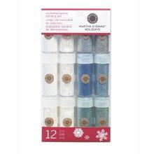 Wintery Glitter 12-Pack