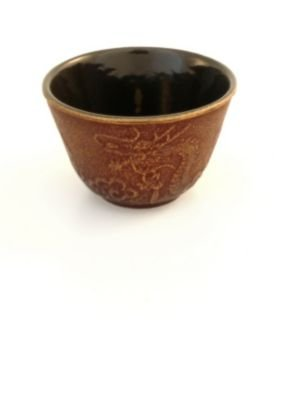 Teavana Imperial Dragon Cast Iron Tea Cup