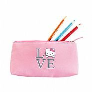 Hello Kitty Pink Pencil Case / Cosmetic Make Up Bag from Avon