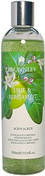 Bronnley Lime & Bergamont Body Scrub, 10.6 Oz