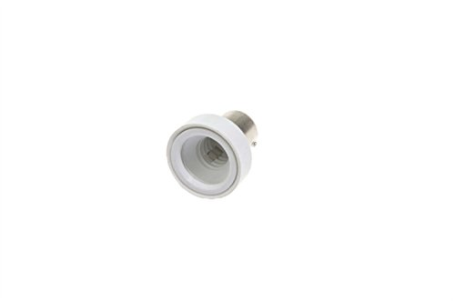 Shangge Ce&Rohs Certification 5 Pcs Ba15S To E12 A-Model Led Bulb Base Converter Halogen Cfl Light Lamp Adapter Socket Change Pbt