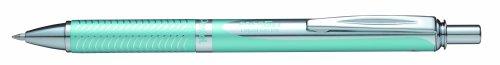 Pentel EnerGel BL407LS - Bolígrafo roller (en caja, ancho de traza 0,35 mm, diámetro bola 0,7 mm, tinta negra), color turquesa