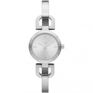 DKNY Women's NY8540 READE Analog Display Analog Quartz Silver Watch