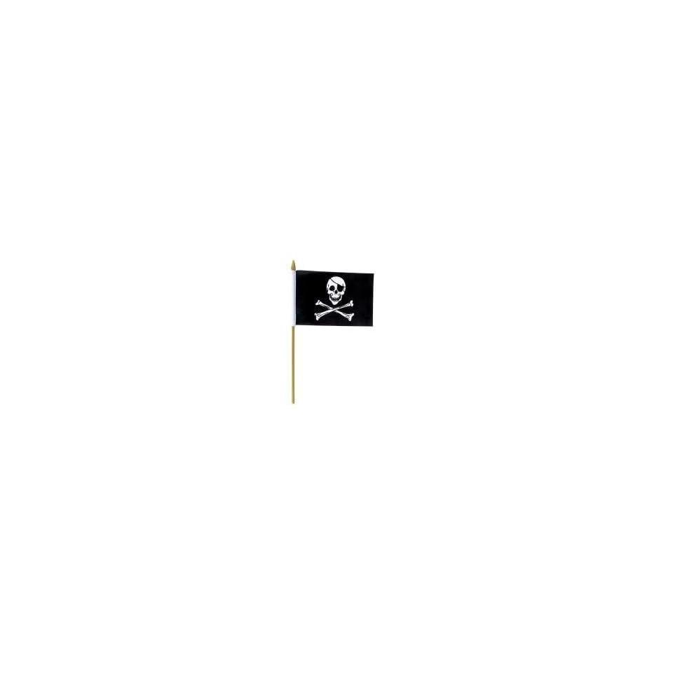 Pirate Skull Flag (1 Dozen)