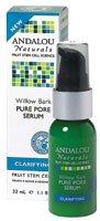 Andalou Naturals Clarifying Willow Bark Pure Pore Serum - 11 fl oz-pack of 1
