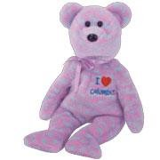 TY Beanie Baby - COLUMBUS the Bear (I Love Columbus - Show Exclusive)