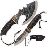 Fantasy Master Fm-471 Fantasy Fixed Blade Knife 12-Inch Overall