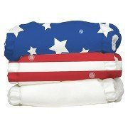 Charlie Banana Diapers and Inserts 'Patriot Pack' 3 X-small