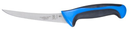 """Mercer Culinary Primary4 6"""" Curved Boning Knife, Blue"""