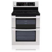 """Lg Lde3015St 30"""" Stainless Steel Electric Smoothtop Range front-219141"""