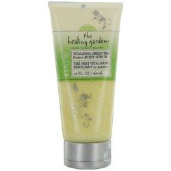 Healing Garden Bamboo Body Scrub, Vitalizing Green Tea 5.6 Fl Oz (166 Ml)