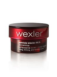 Patricia Wexler M.d. Dermatology Intensive 3-in-1 Eye Cream-lifting, Firming, Anti-wrinkle .5 Fluid Ounces-(full Size Boxed)