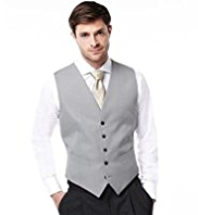 5 Button Wedding Waistcoat with Wool