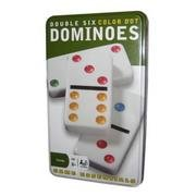 Double Six 24 Color Dot Dominos (Game Essentials)