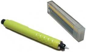 7 Stück Schneiderkreide Schneiderkreidestift Kreidestift grün rot blau weiß gelb violett Schneider Kreide