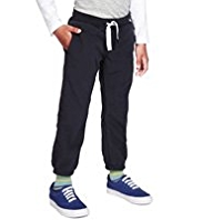 Wide Waistband Fleece Joggers