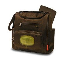 Fisher Price Mini Diaper Bag - Brown - 1