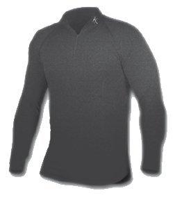 Buy Maxit Designs Qb Z Mock Turtleneck Black 2X by Maxit