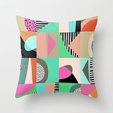 Alphadecor Pillowcover Of Geometry,for Him,bench,kids,couples,living Room,boy Friend 20 X 20 Inches / 50 By 50 Cm(2 Sides) (Dr Panda Ga compare prices)