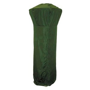 Green Patio Heater Cover Full Length Zipped Patio Heater Winter Storage Cover