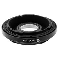 Pro Optic Canon FD Lens to EOS Body Adapter with Correction Glass - Focuses to Infinity