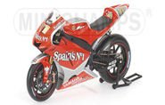 YAMAHA YZRM1 R.XAUS FORTUNA YAMAHA TEAM Diecast Model Motorcycle in 1:12 Scale by Minichamps