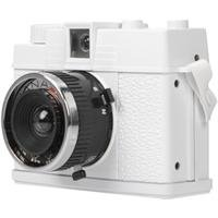 Lomography Diana Mini Camera, 35mm Square Format or Half-Frame - White