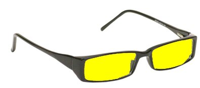 Night Driving Glasses with Canary Yellow Polycarbonate
