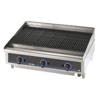"Star Mfg. Star-Max Lava Rock Gas 36"" Char-Broiler"