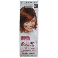 Best Cheap Deal for Clairol Natural Instincts Loving Care Hair Color Crème Lotion 80 Auburn One 3 oz. Bottle from Coty CG - Free 2 Day Shipping Available