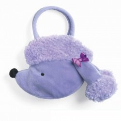 Purple Poodle Goody Bag Purse - 1
