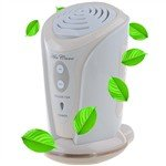 Portable Air Purifier Ionizer Fan with Aroma Diffuser for Car Office Home
