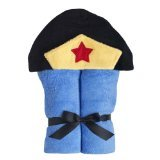 Yikes Twins Hooded Towels Girl Super Hero - 1