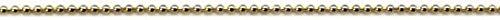 プリティーネイル ブリオンチェーン1.2mm ゴールド CHーBC G 1m 1個