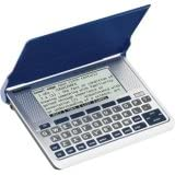 Franklin Electronic Speaking Merriam-Webster's Dictionary with Thesaurus and Spell Correction SSD-256
