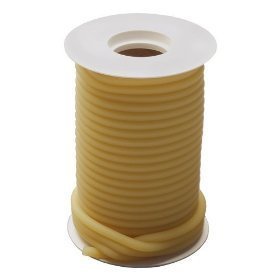 "Latex Tubing - 1/4"" I.D., 3/8"" O.D., 1/16"" Wall 50Ft. (1/Box)"